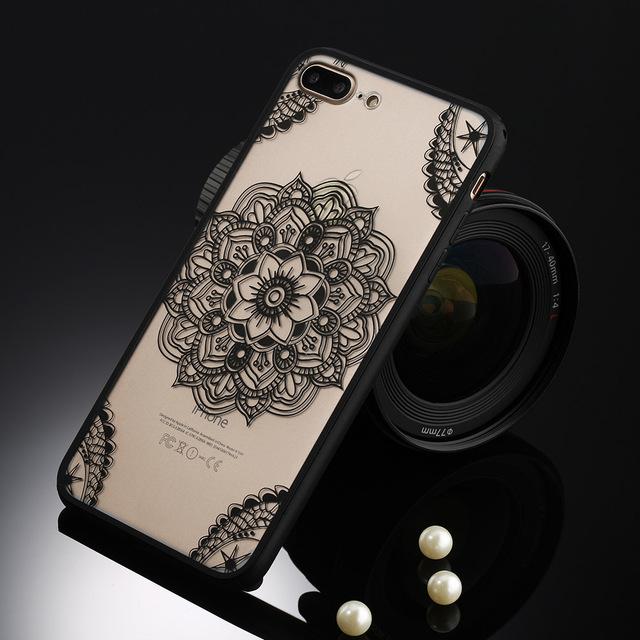 Cute Vintage Floral Women's Case for iPhone