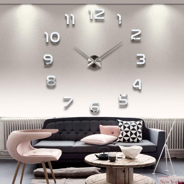 Minimalistic Acrylic Wall Sticker Clock