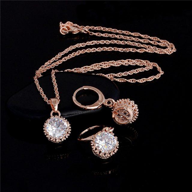 Exquisite Wedding Jewelry Set