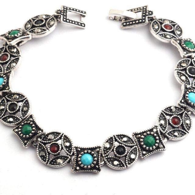 Women's Tibetan Silver Boho Bracelet