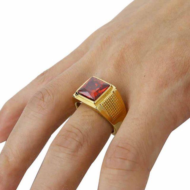 Men's Cubic Zirconia Rings