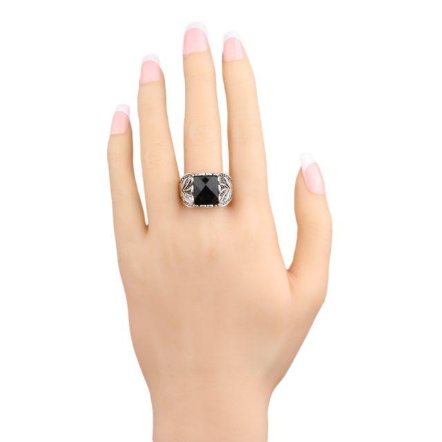Men's Vintage Black Ring