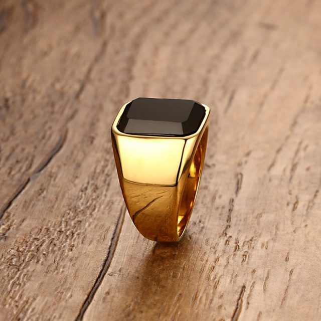 Men's Classic Style Ring